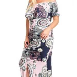 Sexy Plus size Maxi dress